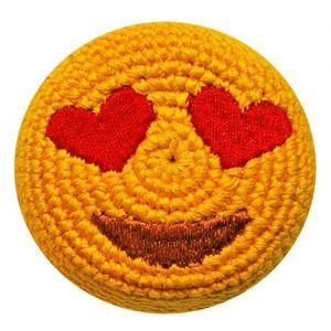 Emoji Heart Eyes Smile Footbag