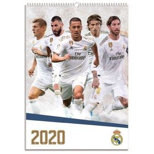 Real Madrid 2020 Calendar