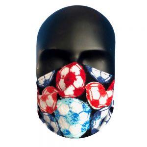 Soccer Ball Print Protective Mask