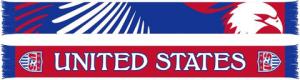 US Soccer - Eagle Scarf