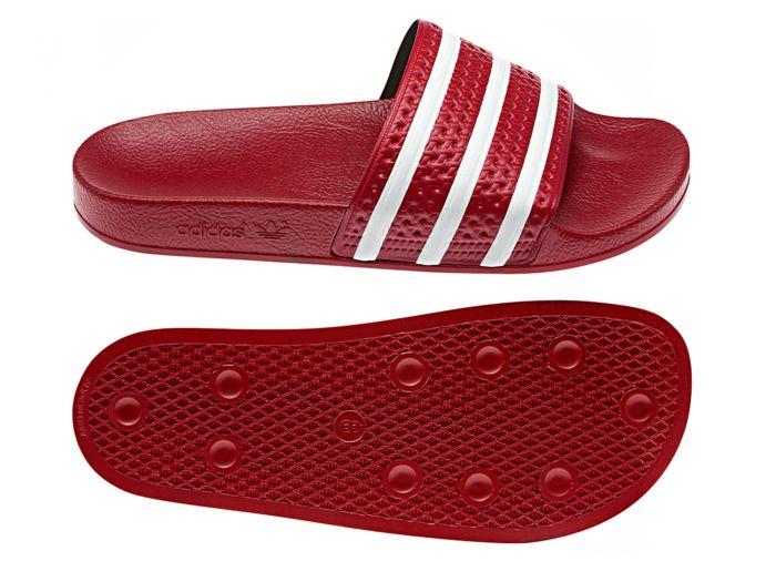 adidas Adilette Sandal red/white