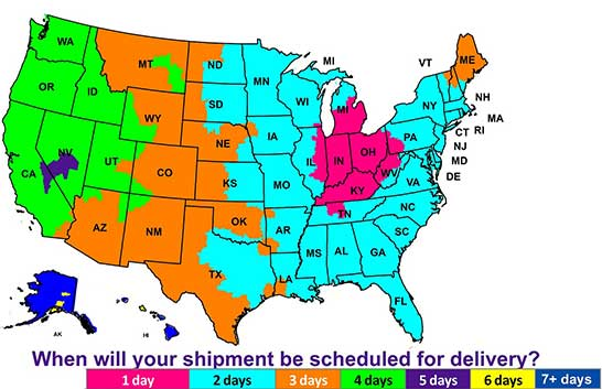 Fedex Delivery Days >> Shipping Delivery Information Soccer Village